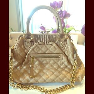 Marc Jacobs Quilted Leather Stam
